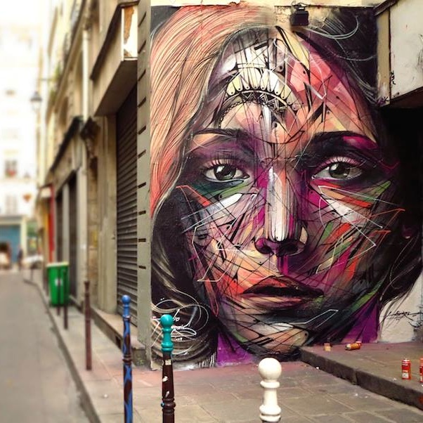 Street Art by Hopare in Paris, France