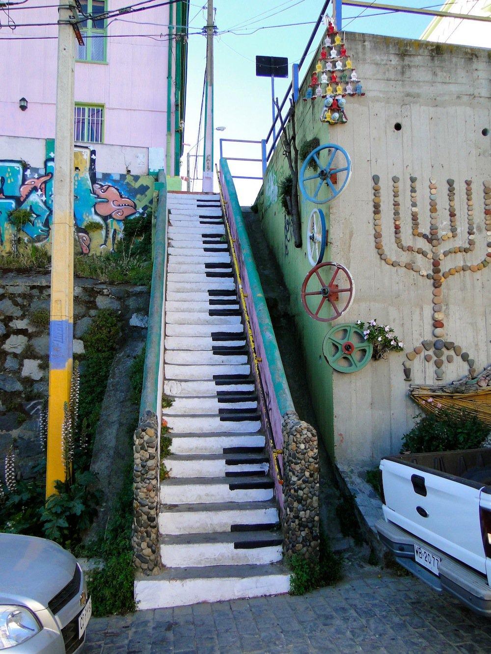 Street Art in Valparaiso, Chile Jean-Baptiste