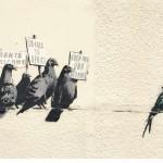Street Art by Banksy in Clacton-on-Sea, UK 1