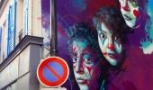 Street Art by C215 at Rue Pelleport- Paris 20ème, France 1