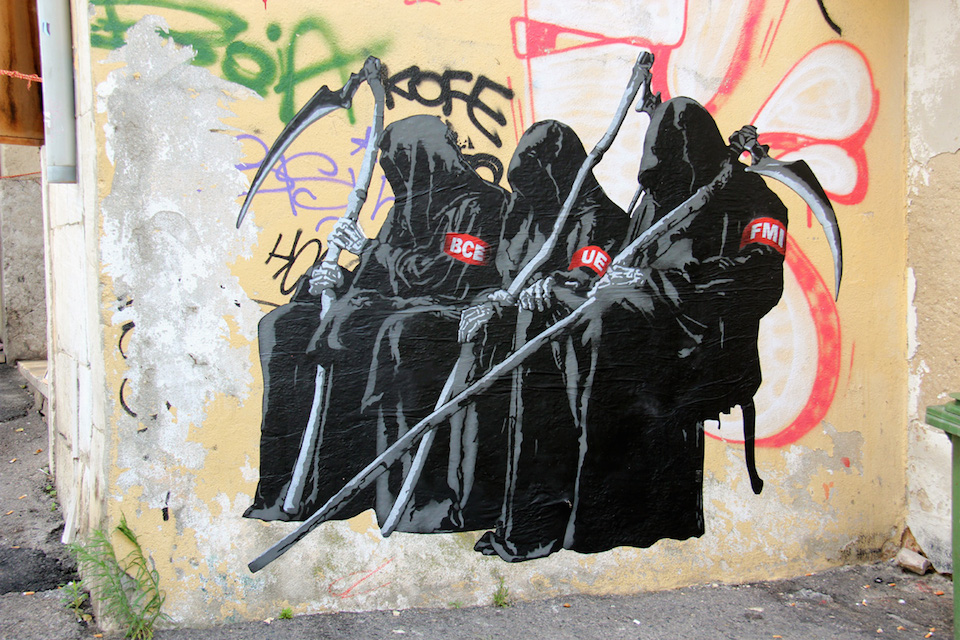 Street Art by Goin 2014, Lisbon, Portugal - Early harvest