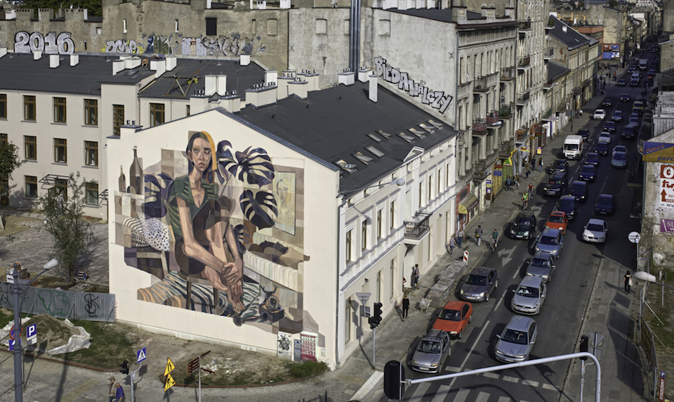 Street-Art by MORIK in Lodz Poland in for Galeria Urban Forms project 2