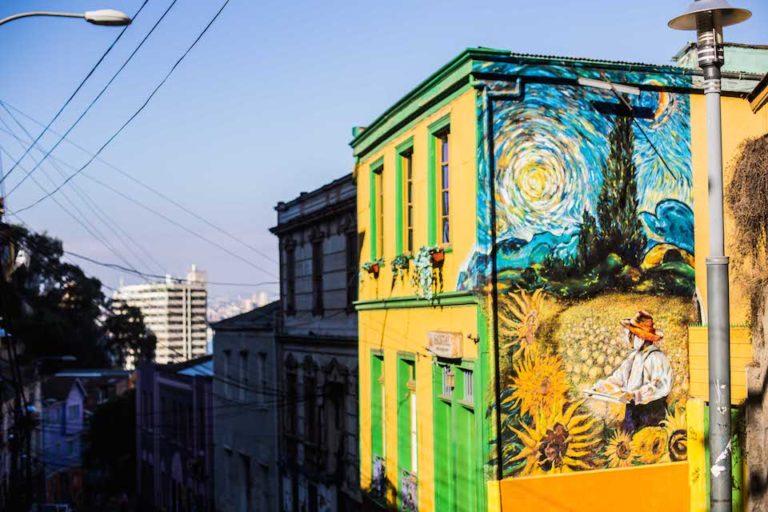 Street Art – Van Gough in Chile