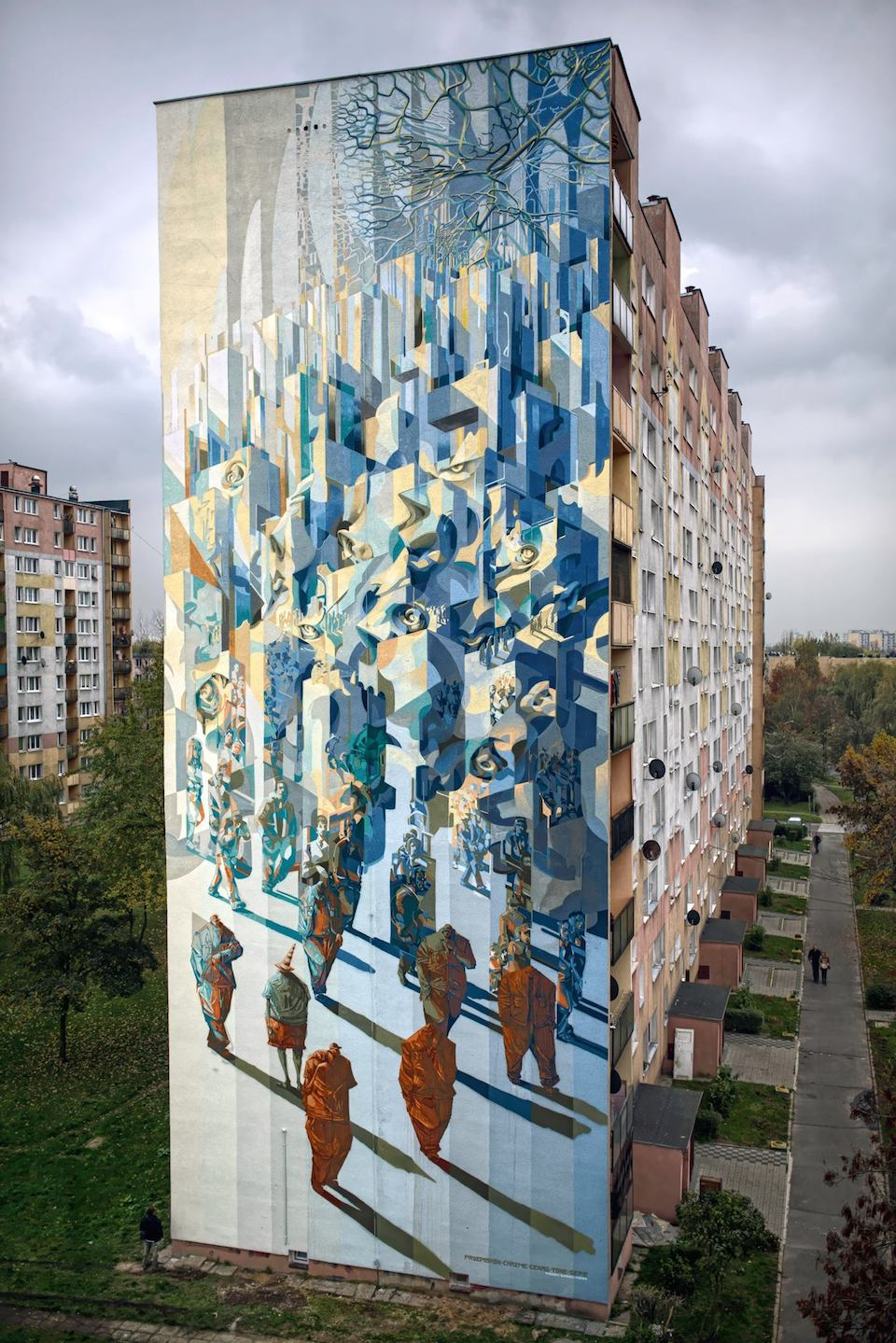 By Proembrion, Tone, Sepe, Chazme, Cekas - at GALERIA URBAN FORMS in Lodz, Poland 16