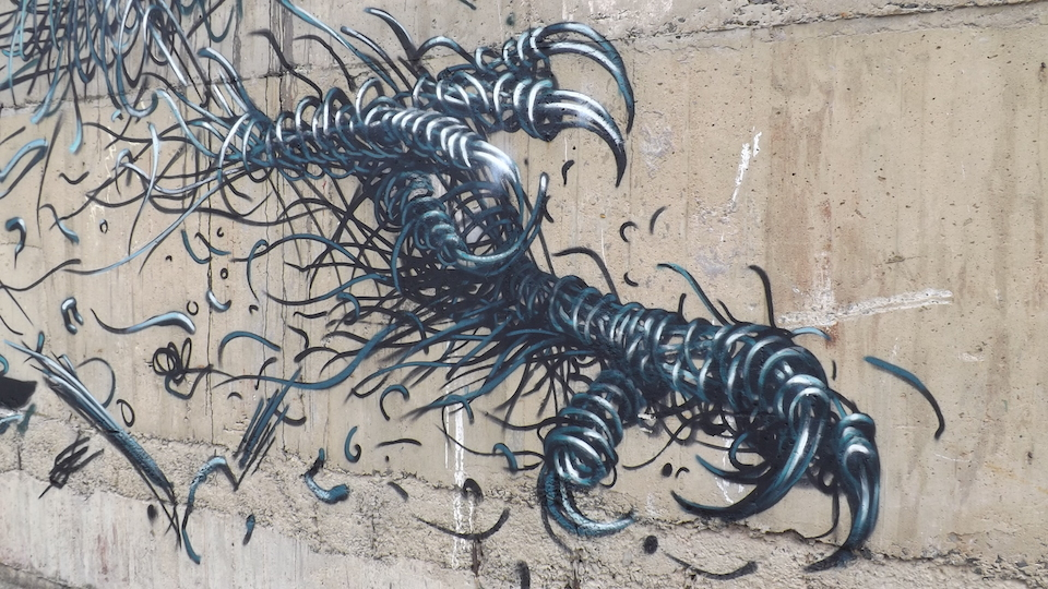 Street Art by DALeast at Stafford Street in Birmingham, United Kingdom 2