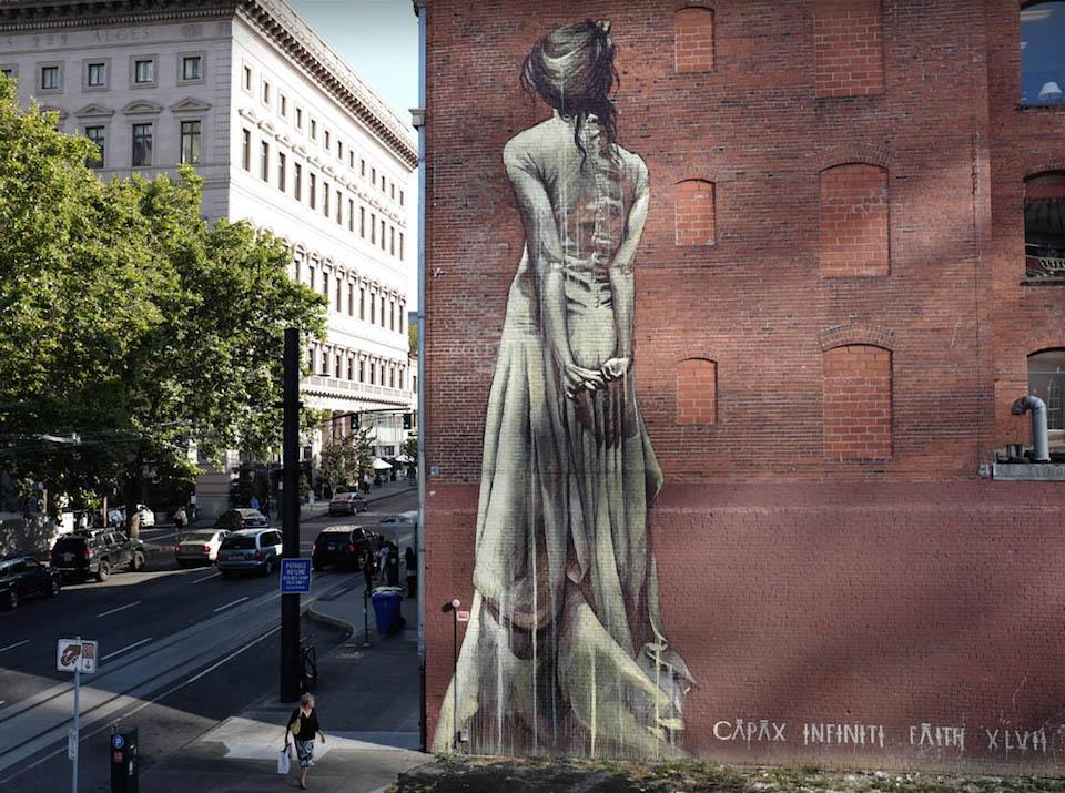 Street Art by Faith 47 in Portland, USA 2