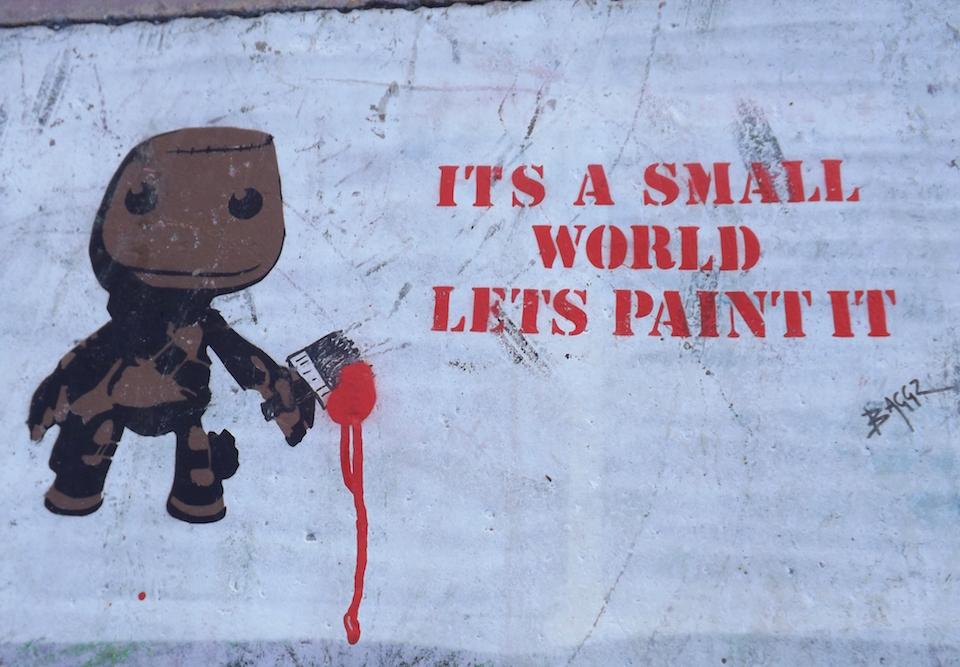 Street Art in Bristol, South West England