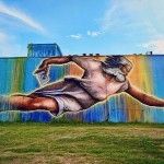 Preservons La Creation - Street Art by Sebastien Mr. D Boileau in San Jacinto Street, Houston, Texas