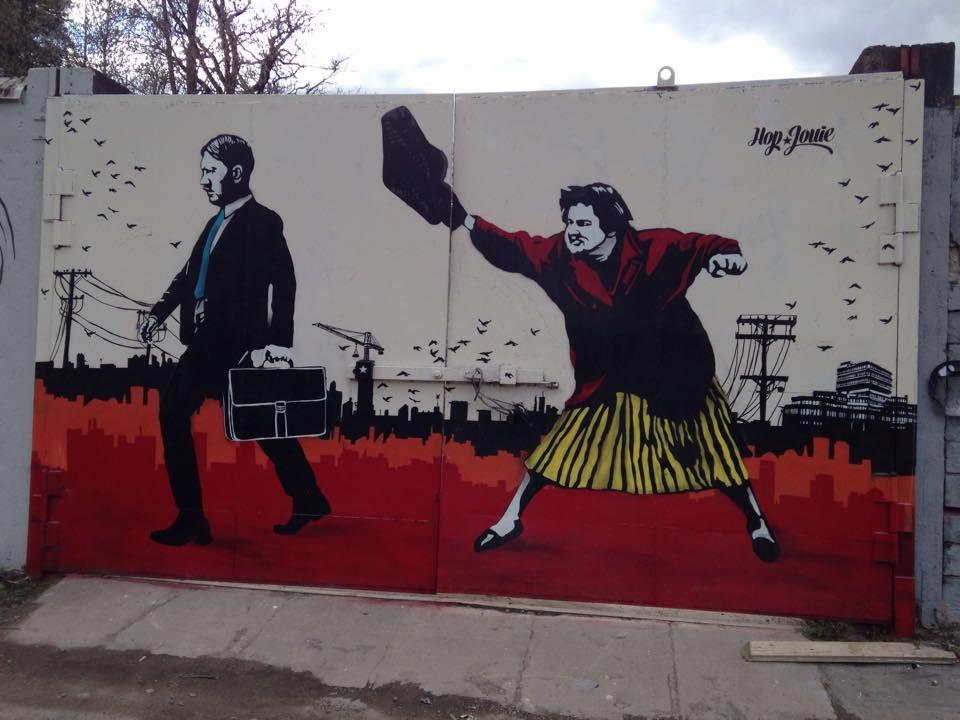 Street Art by Hop Louie on Spring Remake in Stockholm, Sweden 2