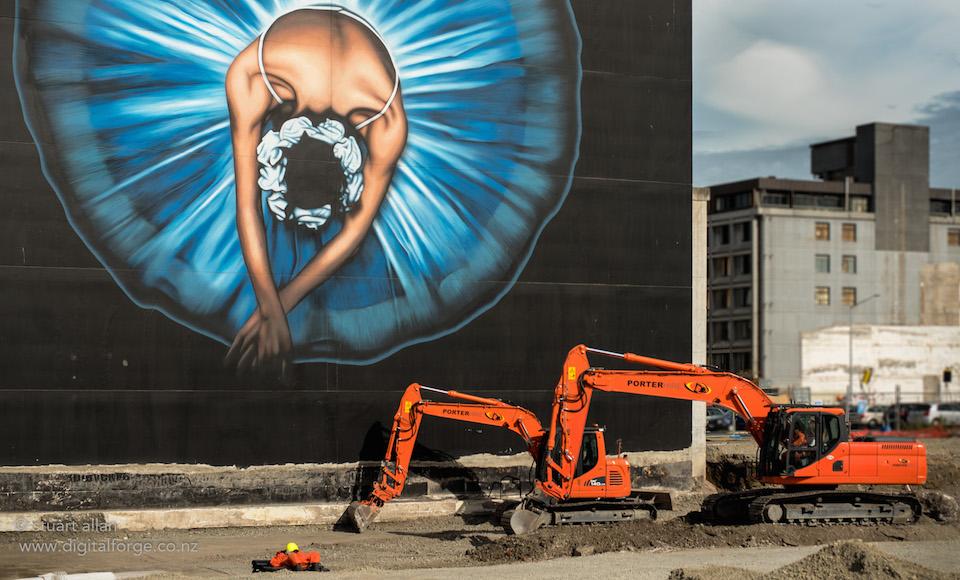 Ballerina by Owen dippie - In Christchurch, Canterbury, New Zealand 2