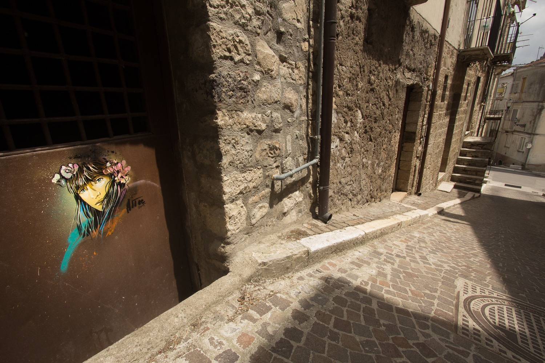 Street Art by Alice Pasquini in Civitacampomarano, Molise, Italy. Photo by Jessica Stewart 7