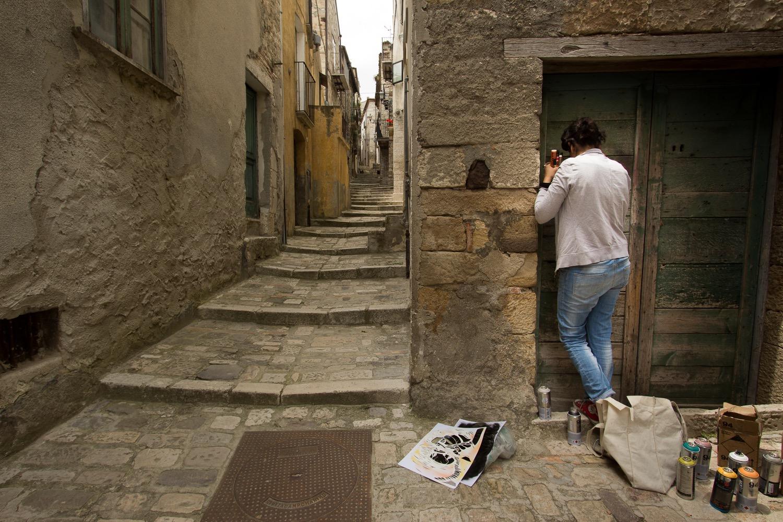 Street Art by Alice Pasquini in Civitacampomarano, Molise, Italy. Photo by Jessica Stewart 8