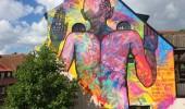 Street Art by Carolina Falkholt at Österlen, Sweden 2014 1