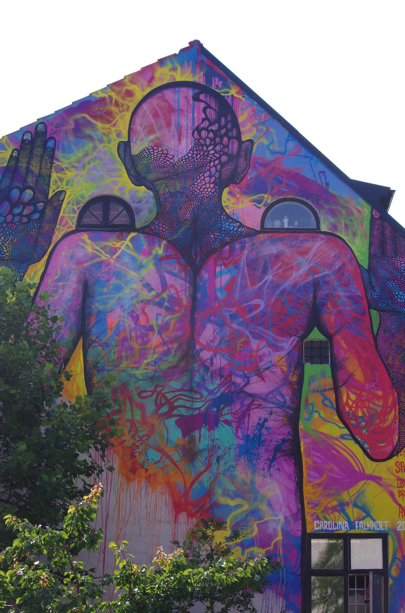 Street Art by Carolina Falkholt at Österlen, Sweden 2014 2