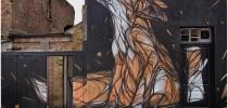 Fox - Street Art by Dazia in London, England