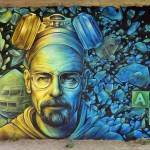 Breaking Bad - Graffiti by Abys and Osmoz in Pompey, France