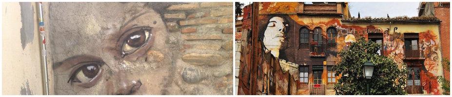 El nino de las pinturas Collage