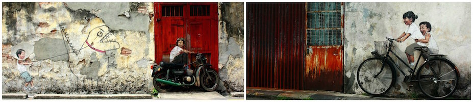 Ernest Zacharevic Collage