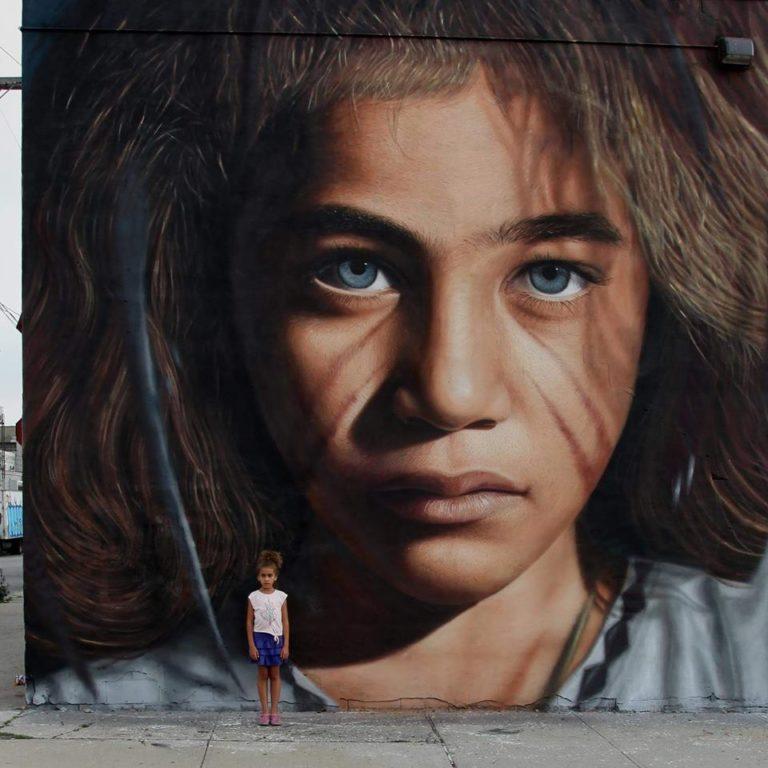 18 photos – A Collection of Street Art by Jorit AGOch