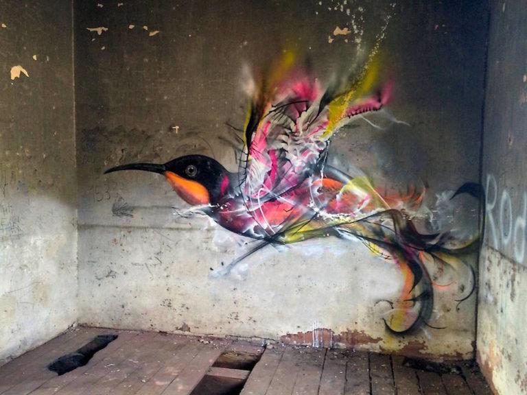 Street Art in Brazil – By L7m