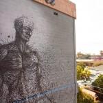 Street Art by DALeast in San Diego, USA 2 – Abhassara mote