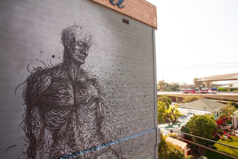 Street Art by DALeast – In San Diego, USA