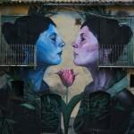 Street Art by Francisco Bosoletti in Bonito, Avellino, Italy 1