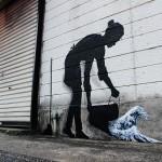 Street Art by Pejac - In Tokyo, Asia 1