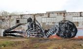 Street Art by Vegan Flava in Lisbon, Portugal