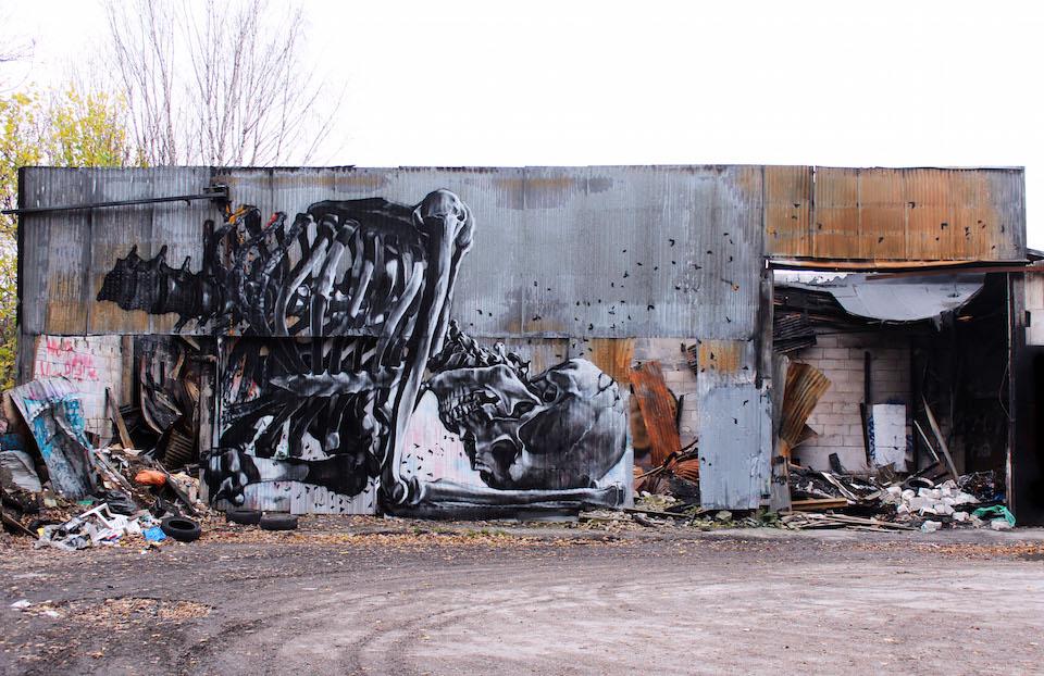 Street Art by Vegan Flava in Stockholm, Sweden 2