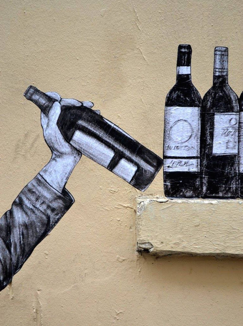 One too many - By Levalet in Paris, France 3