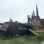 Street Art by Banksy and other artists in London, England – Dismaland 1