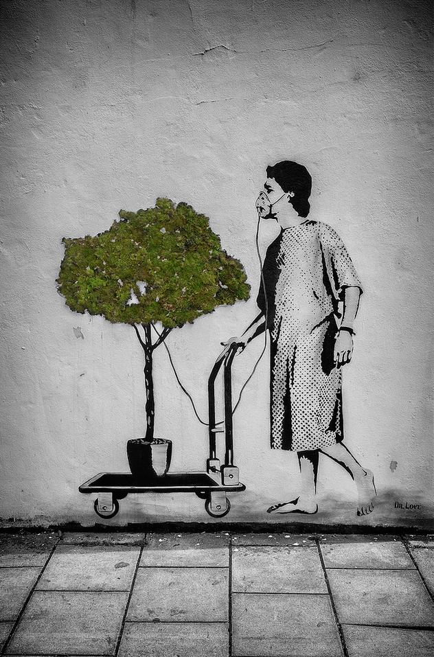 Street Art by Dr Love at Upfest 2015 in Bristol, England