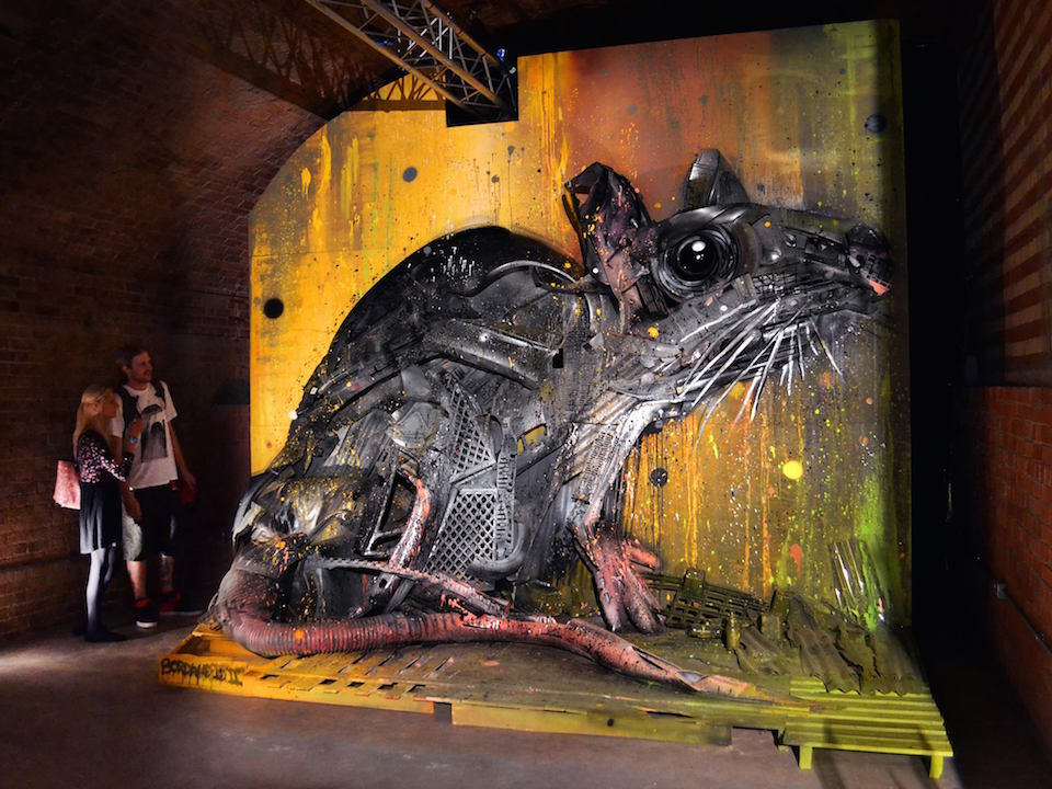 11 Street Art by Bordalo II in London, England