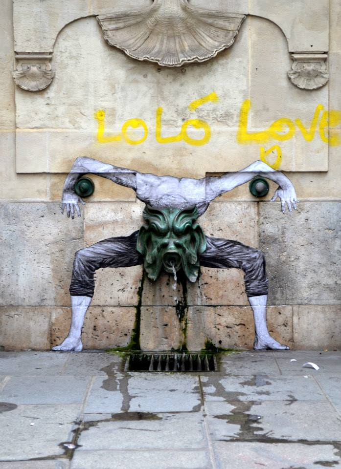 Street Art by Levalet in Paris, France 2 5674