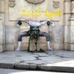 Street Art by Levalet in Paris, France 4 5674