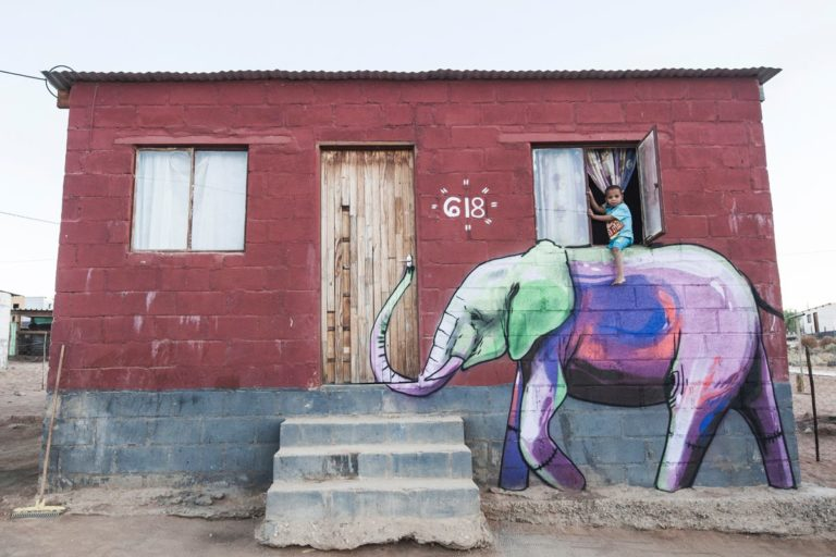 Street Art by Falko one in Garies, South Africa