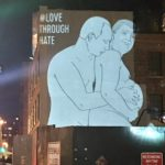 Love Through Hate – Trump and Putin – In New York, USA 9th Avenue Chelsea 1