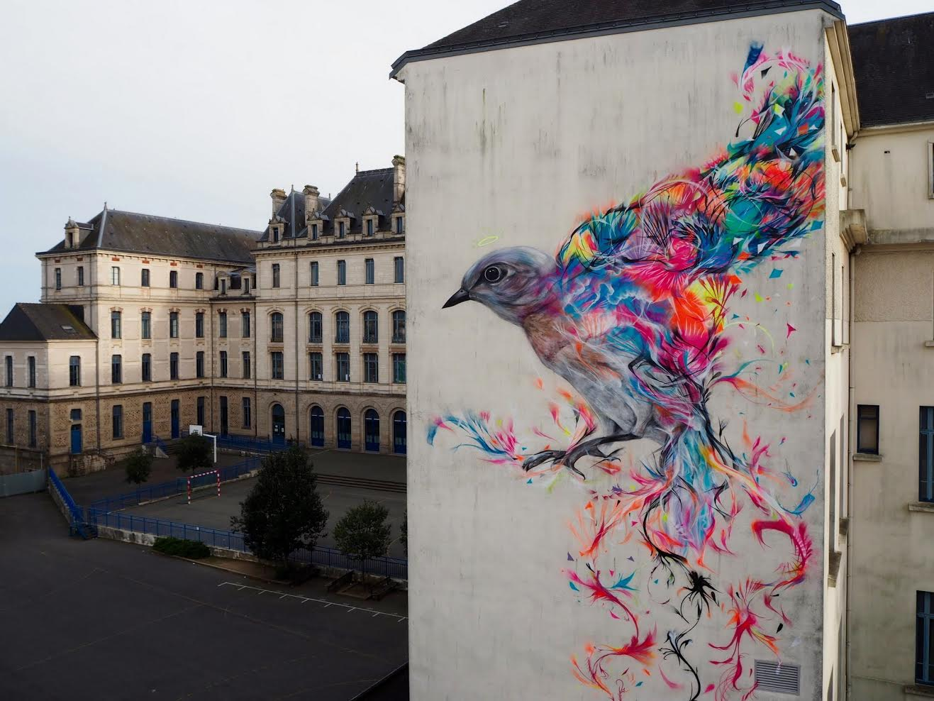 Street Art by L7m - In Vannes, France