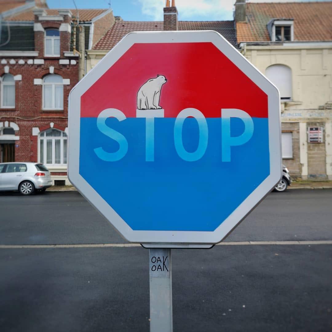 Street Art by Oakoak Stop global warming.jpg