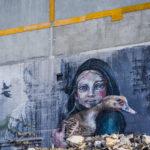 Street Art by Herakut in Reykjavik, Iceland 1