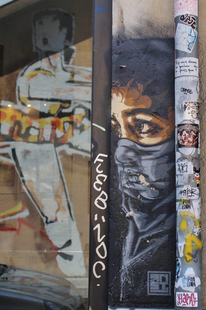 Street Art by Street Artist RNST in Grenoble, France