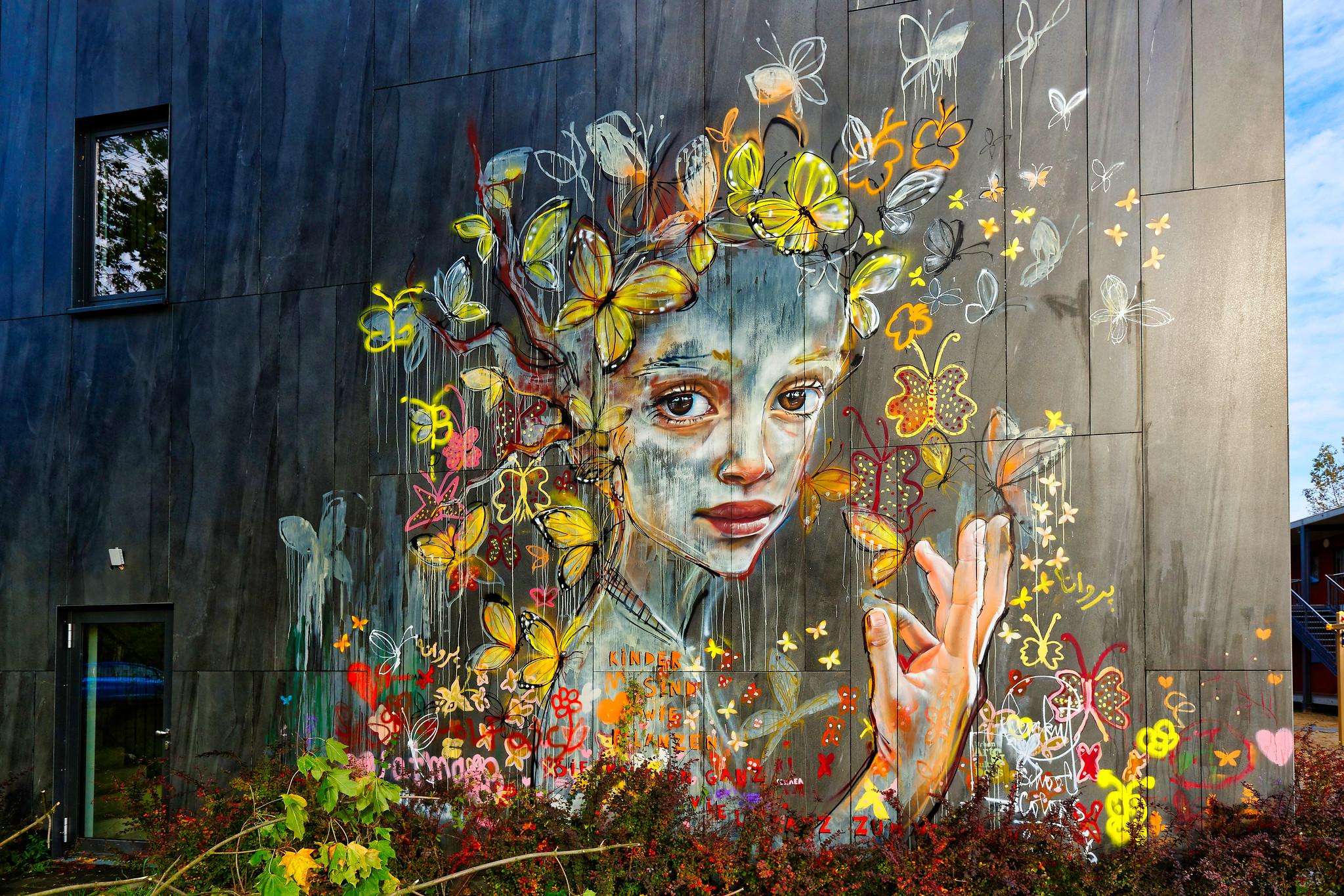 Street Art by Herakut in Berlin, Germany (3 photos) – STREET ART UTOPIA