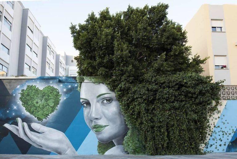 Photo+Video – Street Art by SFHIR in Málaga, Spain