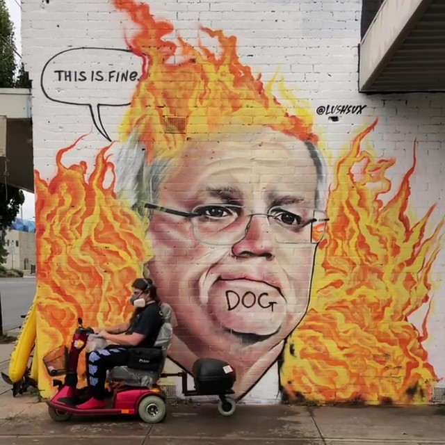 Australia is on fire – By Lushsux (video)