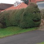 Terrifying-Hedge-Green-Street-Art