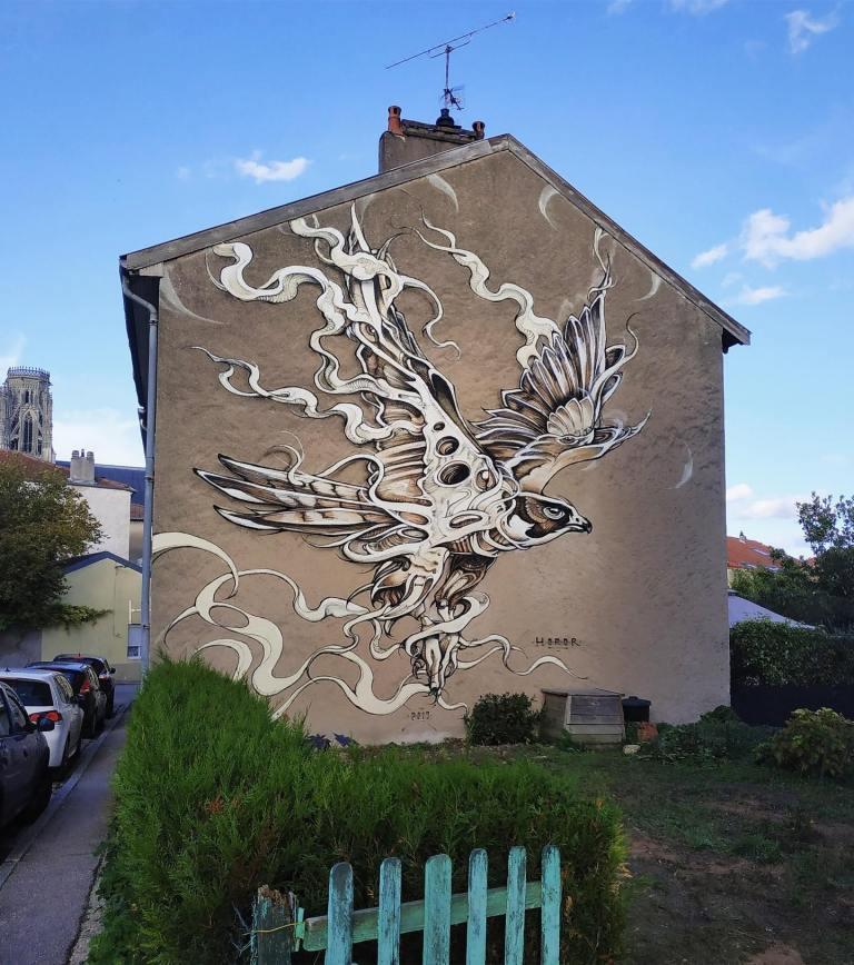 Street Art by HOROR (5 photos)