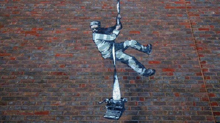 Create Escape – Street Art by Banksy (video)