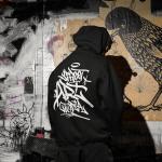 STREET ART UTOPIA hoodie back