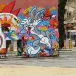 Bugs-Bynny-Street-Artby-Odes-at-jardins-de-les-tres-xemeneies-Barcelona-Spain-2